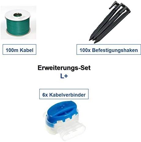 genisys Erweiterung Set L Bosch Indego 1000 1200 1300 Connect Kabel Haken Verbinder