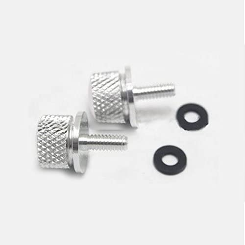 ETbotu Screw Bolt Square Blank Aluminum Alloy Motorcycle Rear Seat