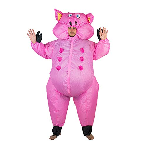 (Bodysocks Adult Inflatable Pig Fancy Dress)