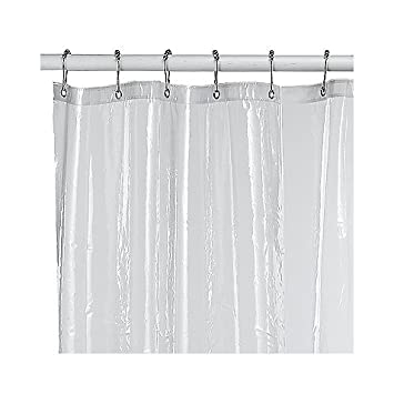 Amazon Soft Sensations Clear PVC Free Shower Curtain Liner 70 X 71 Home Kitchen