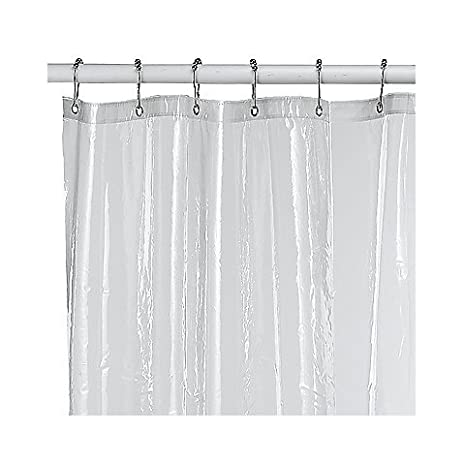 Soft Sensations Clear PVC Free Shower Curtain Liner 70 X 71