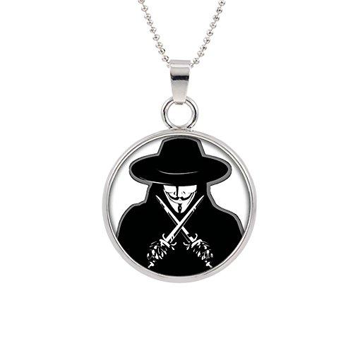 V For Vendetta Hat Type (Outlander Brand V for Vendetta Cosplay Premium Quality 18