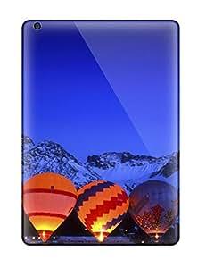 For Ipad Air Fashion Design Hot Air Balloons In The Mountains Case-eiINEVw4326ZhDdC