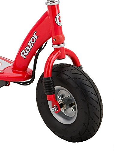 Razor E300 24V Rechargeable Electric Motorized Red Scooter + V17 Youth Helmet by Razor (Image #6)