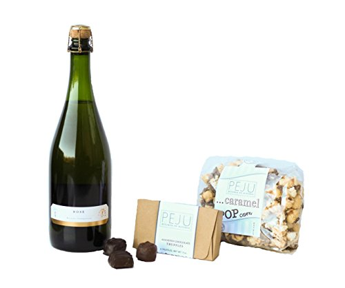 Peju Chocolate and Rosé Gift Set, 1 x 750 mL