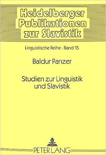 Studien Zum Slavischen Verbum (Heidelberger Publikationen Zur Slavistik)