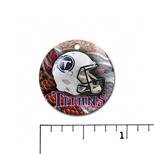 Titans Charm, Pendant. Great Gift Idea Tennessee Football