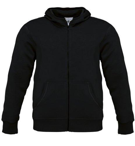 Monster Men Kapuzen Jacke, Farbe:Black;Größe:L