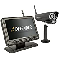 Defender PhoenixM2 Wireless Security System with 7`Monitor and Night Vision Camera