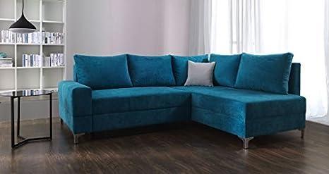 Sofá de la esquina Leona Conjunto de muebles para salón con ...