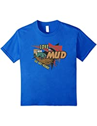 Love the Mud Go Off-Road Redneck Jeep 4x4 Mudding T-Shirt