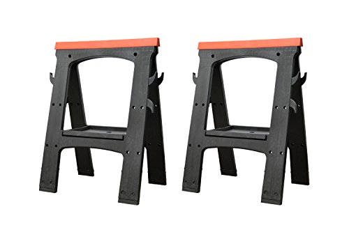 Folding Saw Horse Work Bench (Pair)
