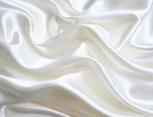 white satin bed sheets - 4