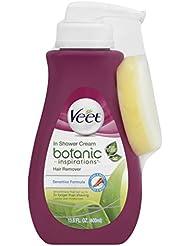 Veet Botanic Inspirations In Shower Cream, 13.5 fl Oz., for Legs & Body