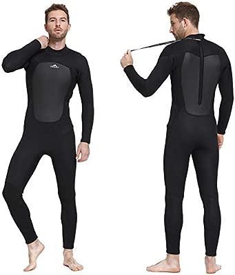 Traje de buceo de neopreno de 3 mm para hombres, traje de surf ...