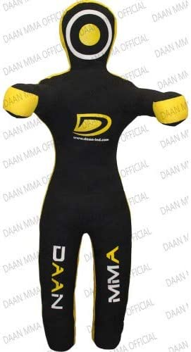 "BRAZILIAN MMA GRAPPLING DUMMY JIU JITSU JUDO MARTIAL ARTS WRESTLING DUMMY,47/"""