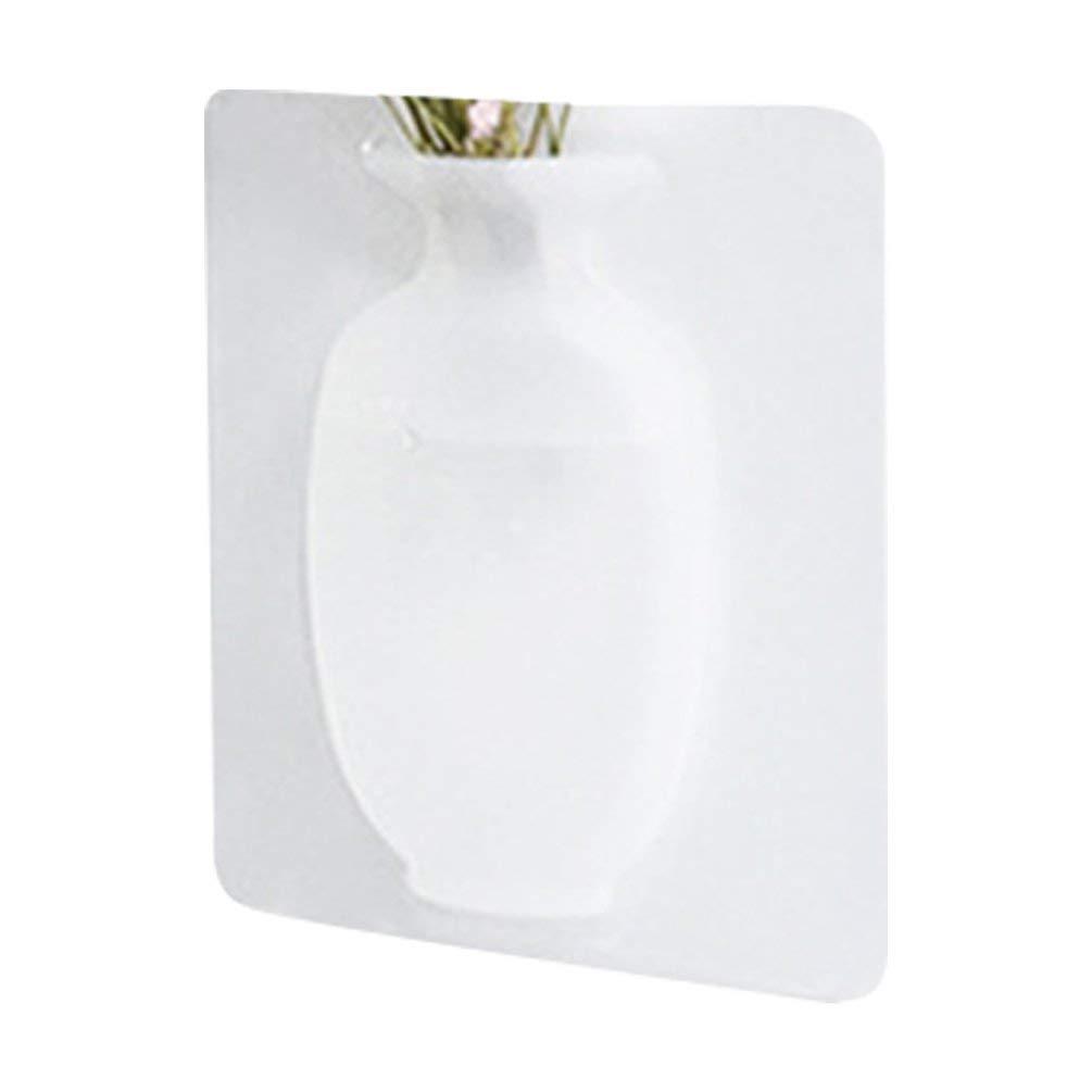 frigor/ífico sin Marcas jarr/ón Hehilark Adsorci/ón m/ágica de Silicona Barra para Colgar en la Pared jarr/ón de pl/ástico Autoadhesivo Adhesivos para frigor/ífico de Cristal