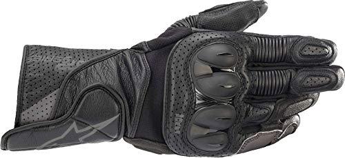 Alpinestars Motorradhandschuhe kurz Motorrad Handschuh SP-2 V3 Sporthandschuh schwarz/grau L, Unisex, Sportler…