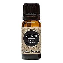Vetiver 100% Pure Therapeutic Grade Essential Oil by Edens Garden- 10 ml