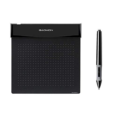 GAOMON 6 x 5 Inches Soft Drawing Graphics Tablet Flex Pen Ta