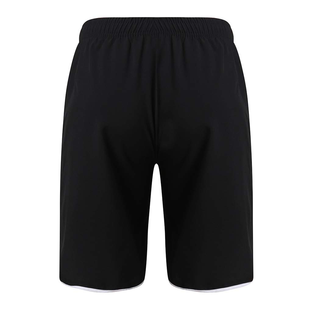 Pengy Mens Sports Shorts Summer Black Running Training Workout Short Pants Males Fashion Outdoor Surfing Trousers