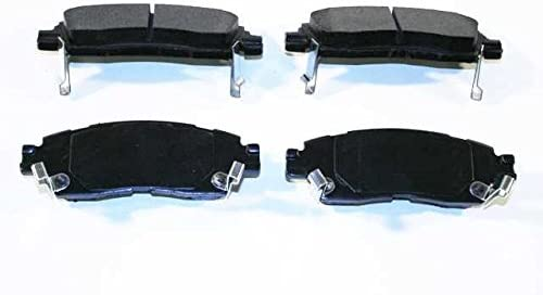 Prime Choice Auto Parts SMK883 Rear Semi Metallic Brake Pads