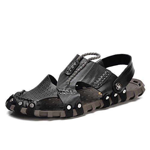 da Black Shoes Openwork Esterno Moda LEDLFIE Beach Casual Sandali Scarpe 0wRtBzCq