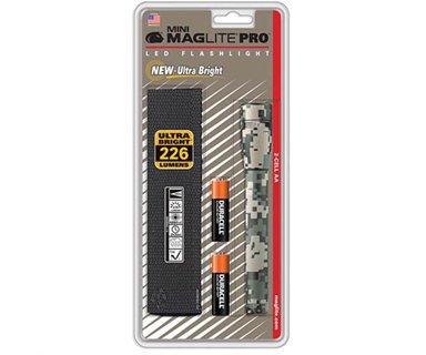 MAGLITE Mini Maglite LED 2 Cell AA Pro+, Universal Camo