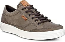 ECCO Men's Soft 7 Fashion Sneaker,Wild Dove grey,41 EU / 7-7.5 US