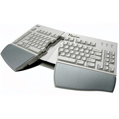 (Kinesis Maxim USB-PS/2 Combo Keyboard, native USB with PS/2 adapter)