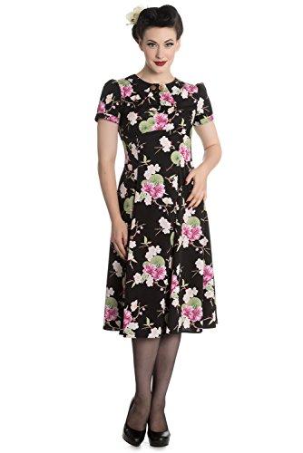 Hell-Bunny-Freya-Floral-Retro-Rockabilly-Landgirl-Dress