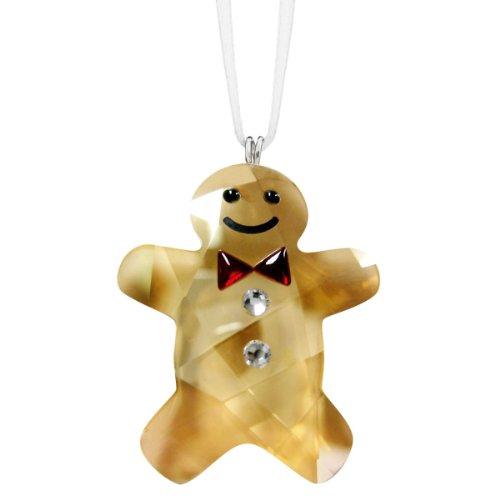 Swarovski Twinkling Gingerbread Man Ornament