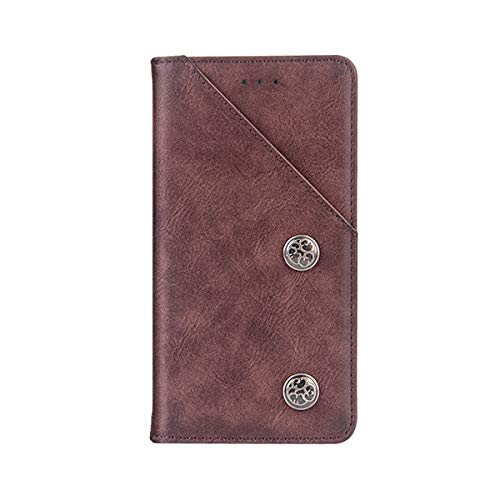 AICEDA HTC U Play Case, Replacement Retro Multifunction Leather Wallet Case Cover [ Kickstand ] PU Leather Wallet Case with ID & Credit Card Slot Compatible with HTC U ()
