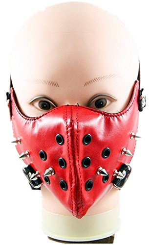 Punk family Men and women rivet rock mask personality motorcycle mask by Punk family
