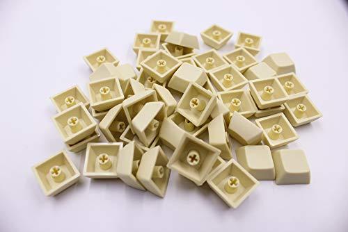 ONECAP 1U Blank XDA keycap 37 Keys PBT Keycaps for Mechanical Gaming  Keyboard (B2 Light Yellow)