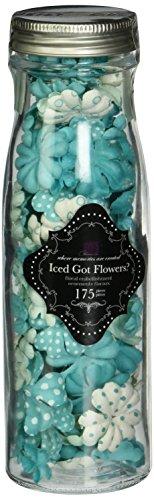 Prima Forum Novelties 712297 2 by 2-Inch Got Flowers, Iced Sea Jewel ()