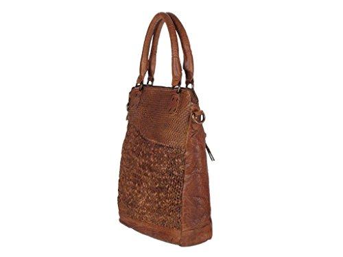 Greenland Femi & Nine Ladies Bag Borsa a mano pelle 32 cm