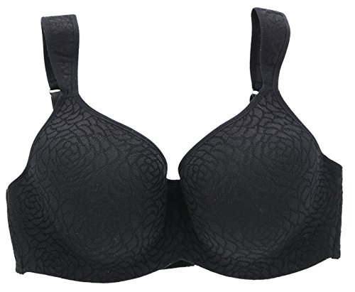 Delta Burke Intimates Women's Queen Size Molded Bra (40D, ()