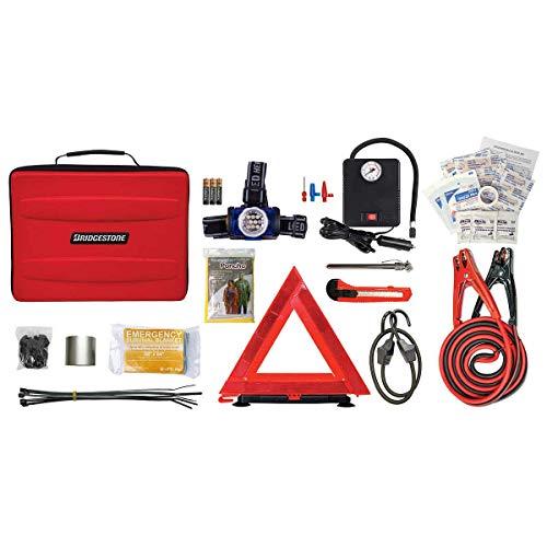 Bridge-stone Forty-Seven Pieces Auto Safety Emergency Roadside Kit