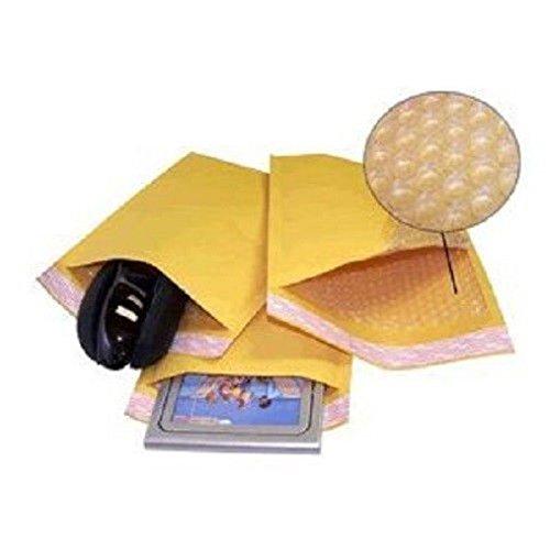 100 #0 Kraft Bubble Padded Envelopes Mailers 6.5 X 10 100KF0