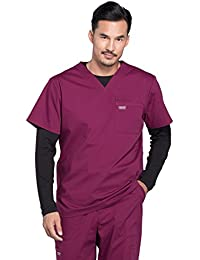 Workwear Professionals Mens V-Neck Scrub Top