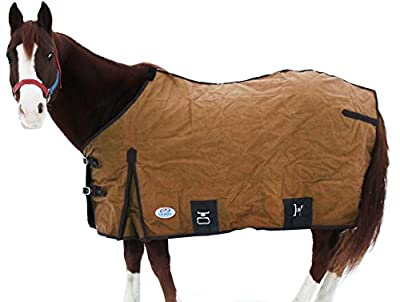 Derby Originals Premium Canvas Horse Winter Stable Blankets with Wool Lining