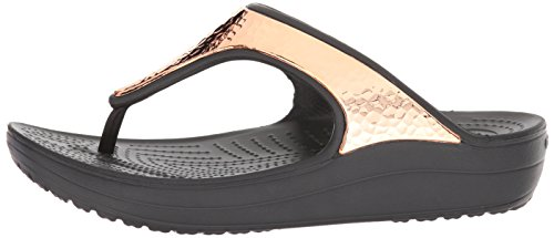 MOLLETTE Hammered Black Crocs METALLIZZATO Sloane W tazF7w