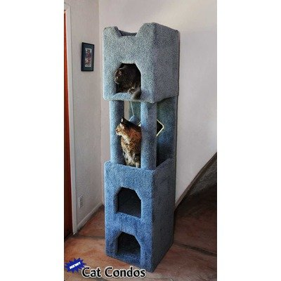 71″ Tall Cat Tower Color: Beige, My Pet Supplies