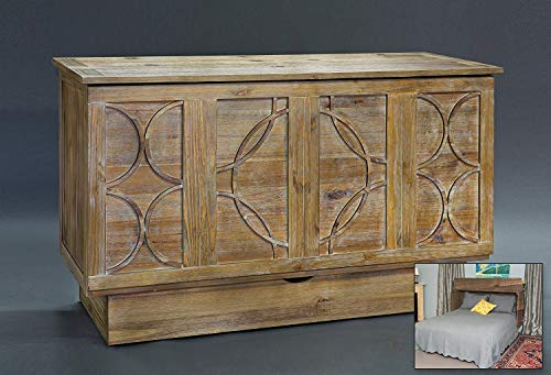 (fu-chest Queen CREDEN-ZZZ Brussels Cabinet BEDNEW Natural ASH Color and Style)