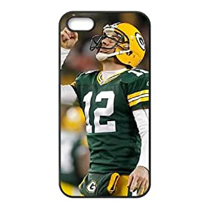 Aaron Rodgers iPhone 4 4s Cell Phone Case Black yyfabc-367152