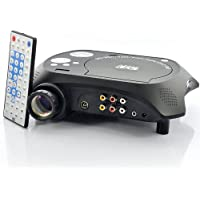 Generic LED Multimedia Projector with DVD Player - 480x320, 20 Lumens, 100: 1