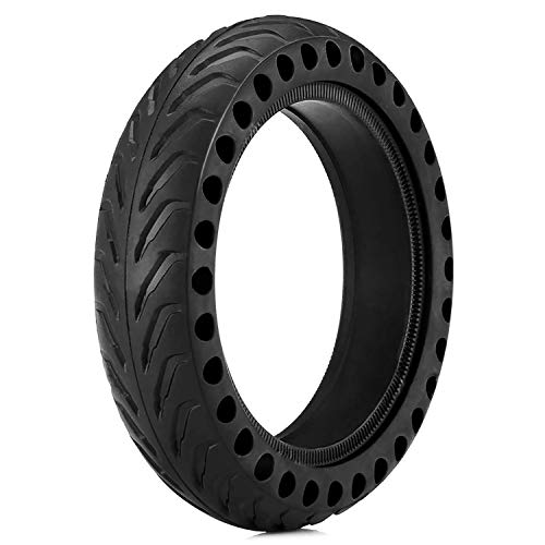 WiLEES Solid Tire Mijia Scooter Replacement Tire for Xiaomi Mi M365 Electric Scooter Gotrax gxl Scooter 8.5 - Solid Scooter