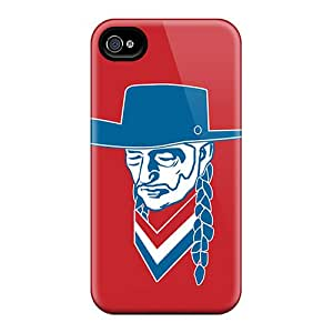 Apple Iphone 4/4s FgJ20182Rgnr Support Personal Customs High Resolution Willie Nelson Skin Bumper Cell-phone Hard Covers -JohnPrimeauMaurice