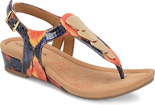Comfortiva Women's, Summit Low Heel Sandal Sunburst